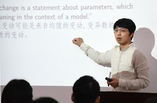 台湾教师在大陆高校授课